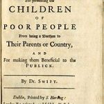 A Modest Proposal 1729 Cover